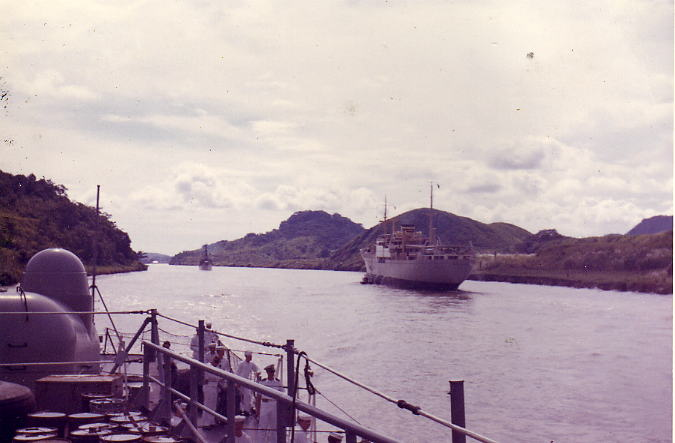 Mux in Panama Canal