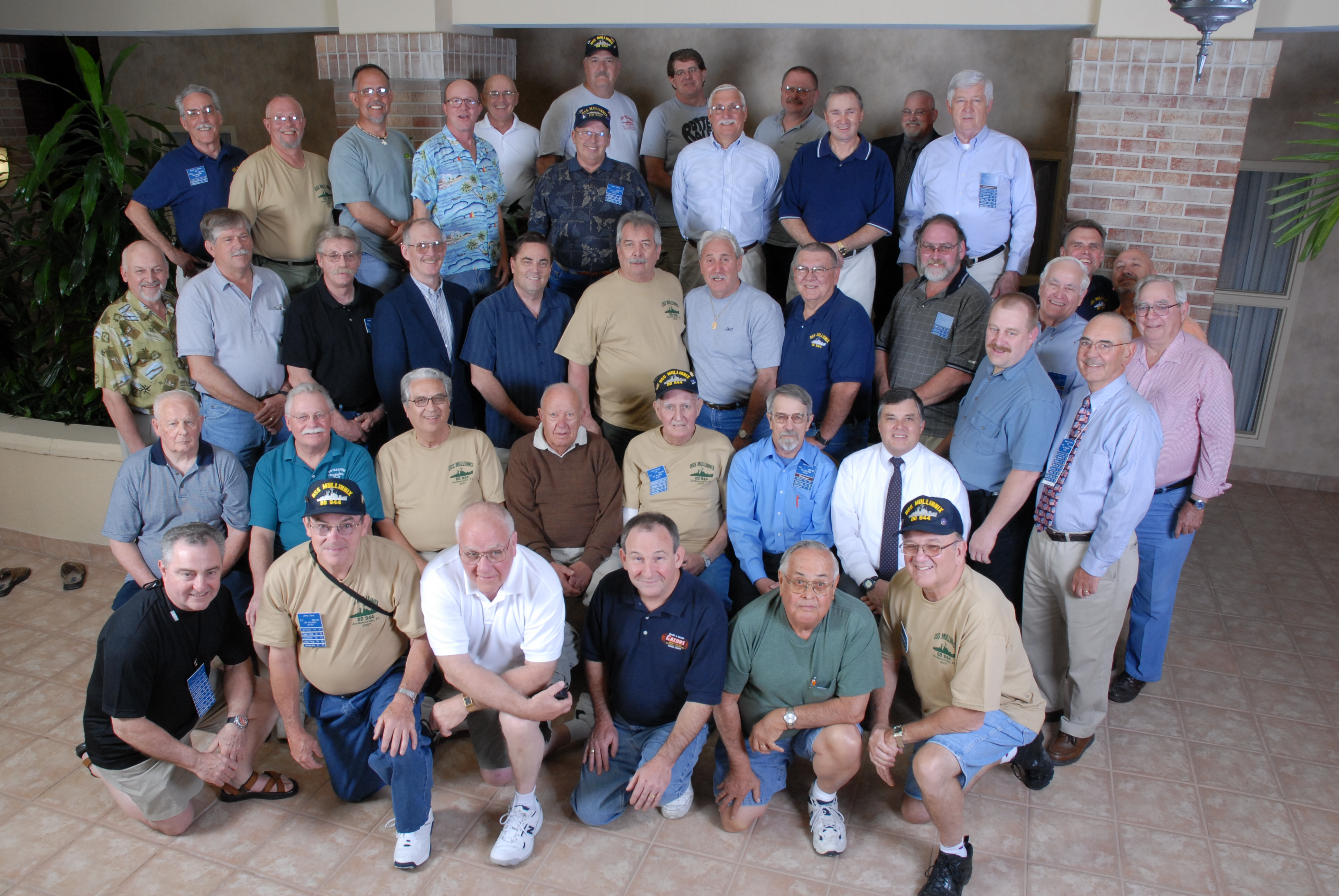2007 Reunion Attendees