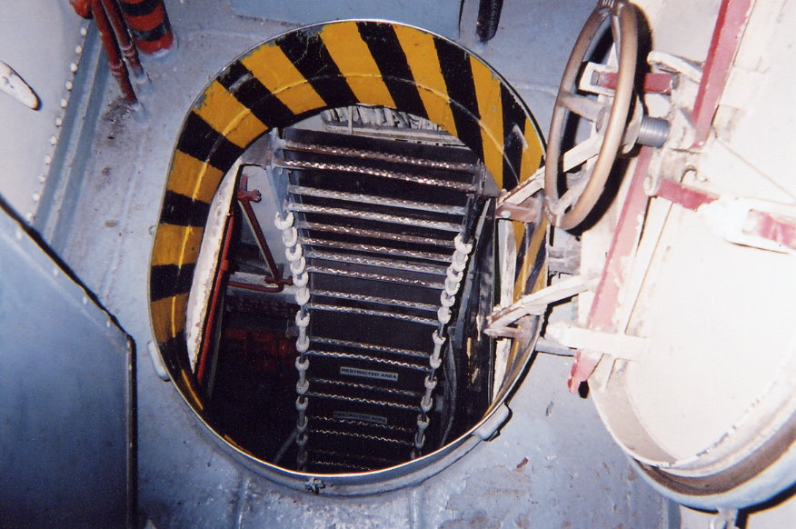 Engine Room Entrance USS Edson DD-946