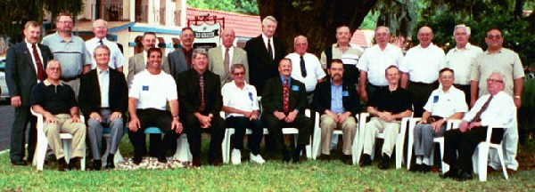 All Attendees at 2001 Reunion