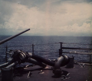 MT53 Shelling Enemy positions - Vietnam 1972