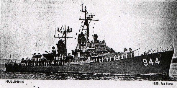 Mullinnix 1959 from Janes Fighting Ships 1961/2