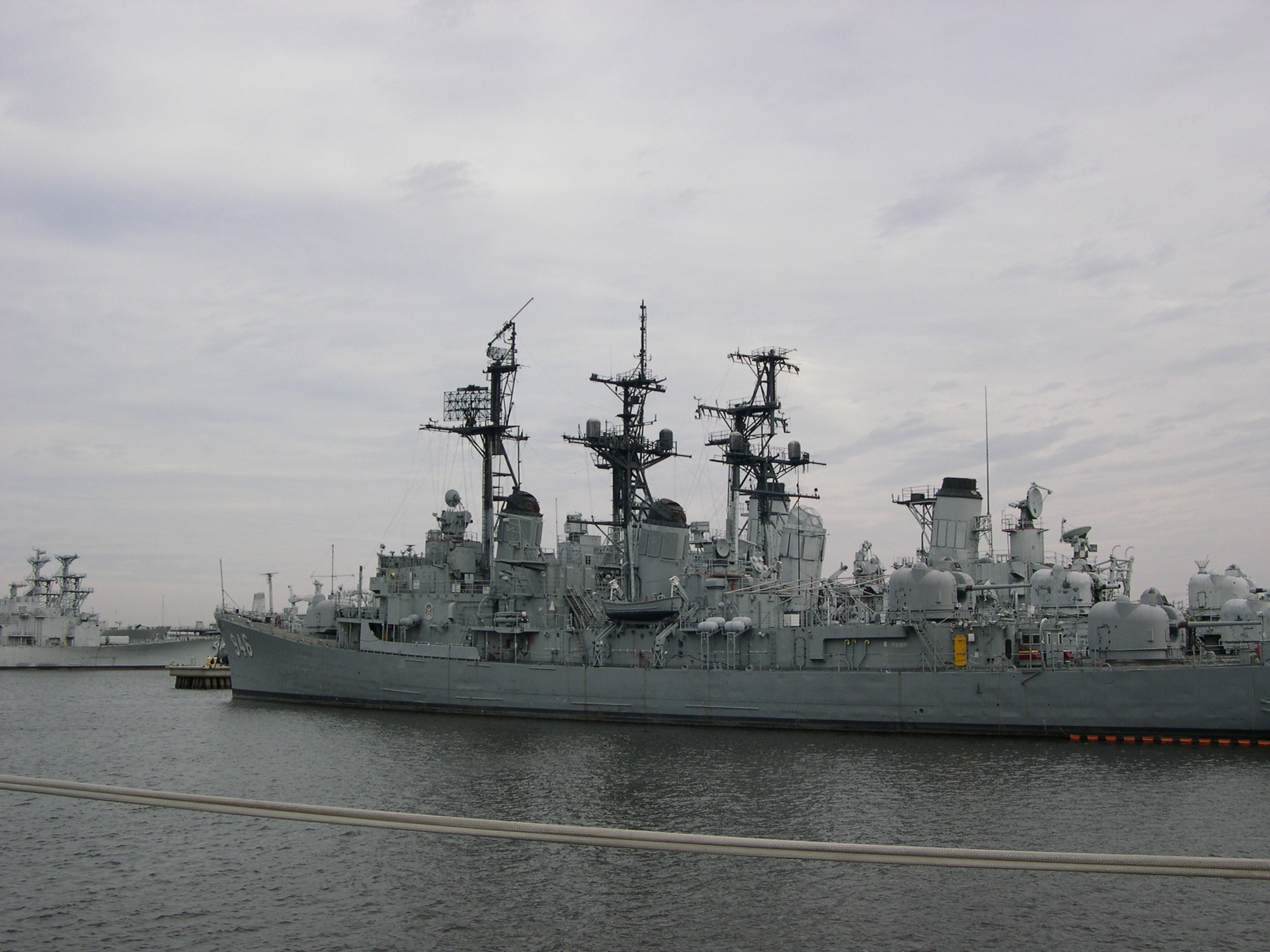 USS Forrest Sherman, USS Edson, USS Adams - May 2007
